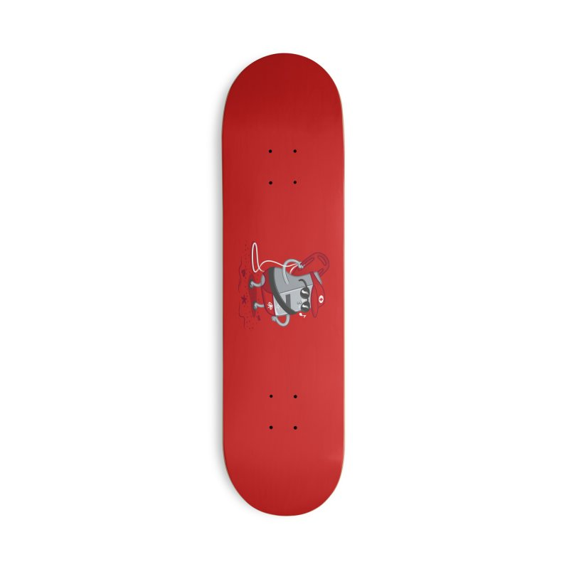 Whistle While You Work Accessories Deck Only Skateboard by Made With Awesome