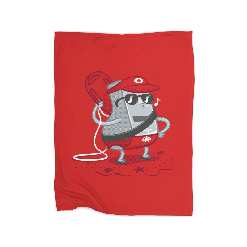 Whistle While You Work Home Fleece Blanket Blanket by Made With Awesome