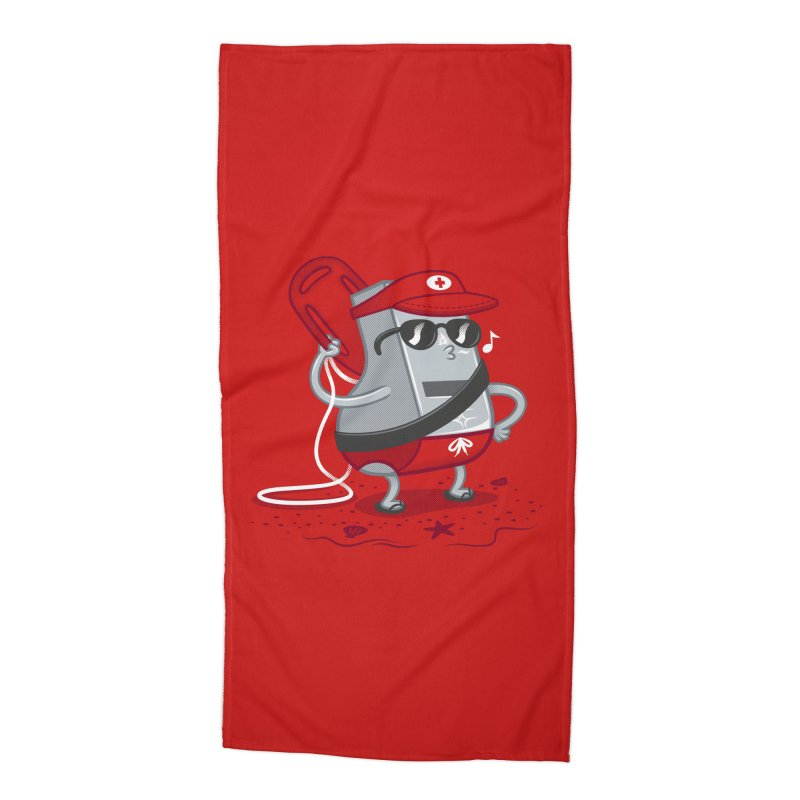 Whistle While You Work Accessories Beach Towel by Made With Awesome