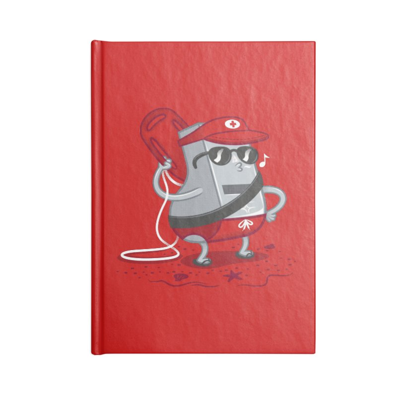 Whistle While You Work Accessories Lined Journal Notebook by Made With Awesome