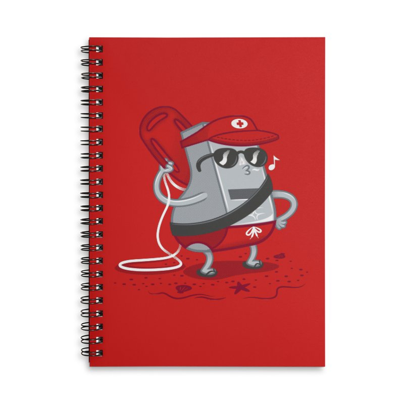 Whistle While You Work Accessories Lined Spiral Notebook by Made With Awesome