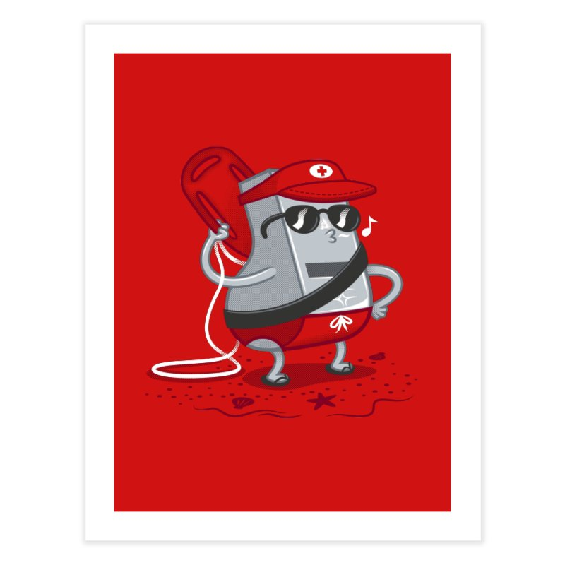 Whistle While You Work Home Fine Art Print by Made With Awesome
