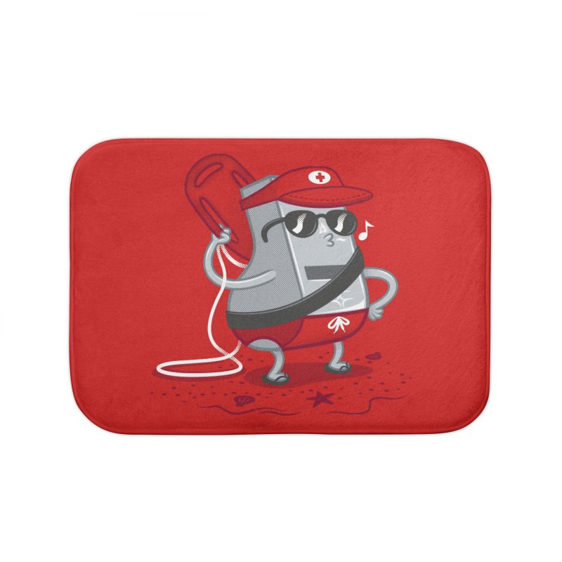 Whistle While You Work Home Bath Mat by Made With Awesome
