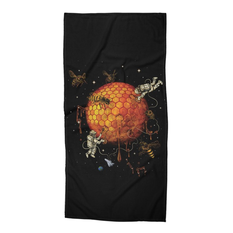Honey Moon Accessories Beach Towel by Made With Awesome