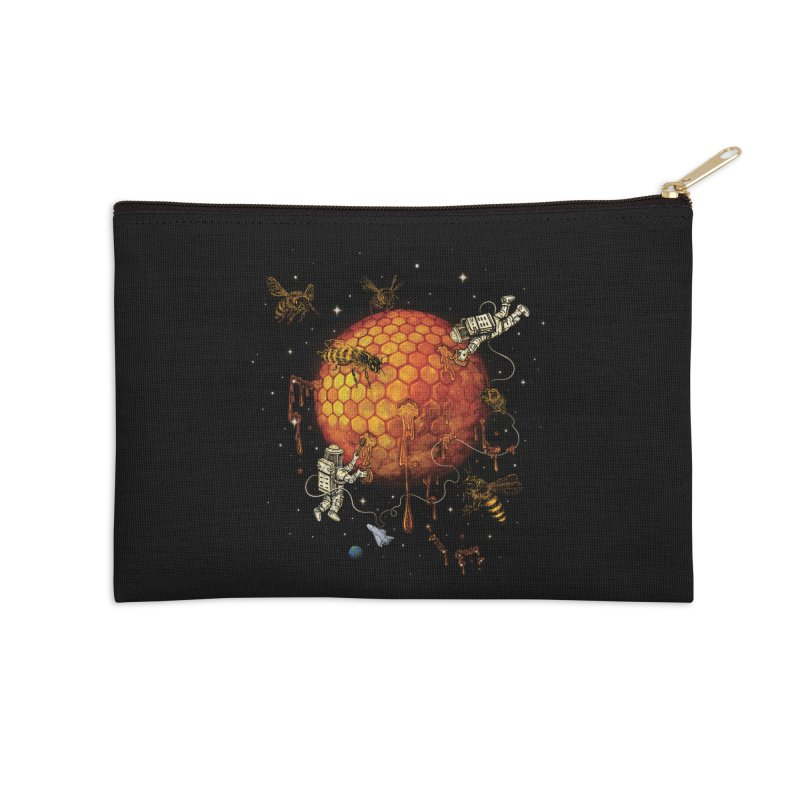 Honey Moon Accessories Zip Pouch by Made With Awesome