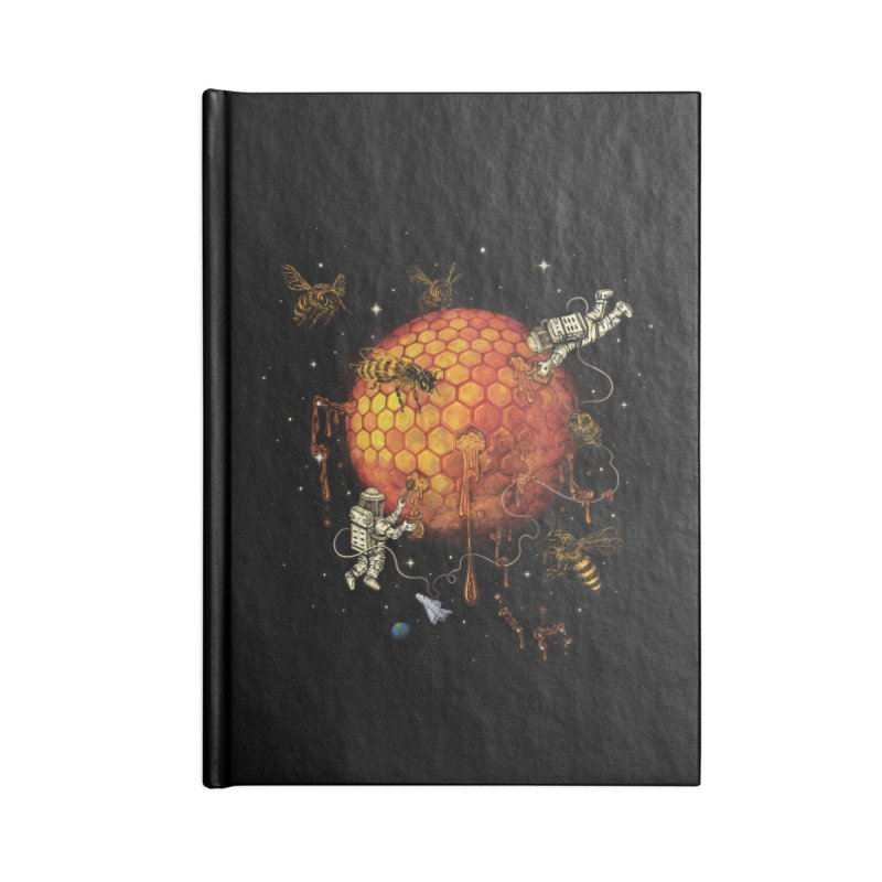 Honey Moon Accessories Lined Journal Notebook by Made With Awesome