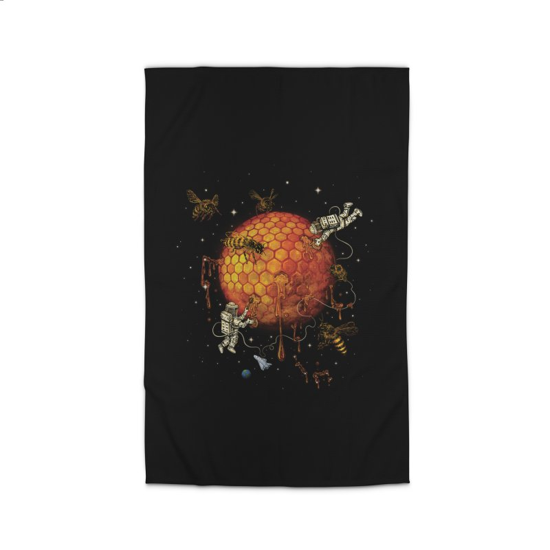 Honey Moon Home Rug by Made With Awesome