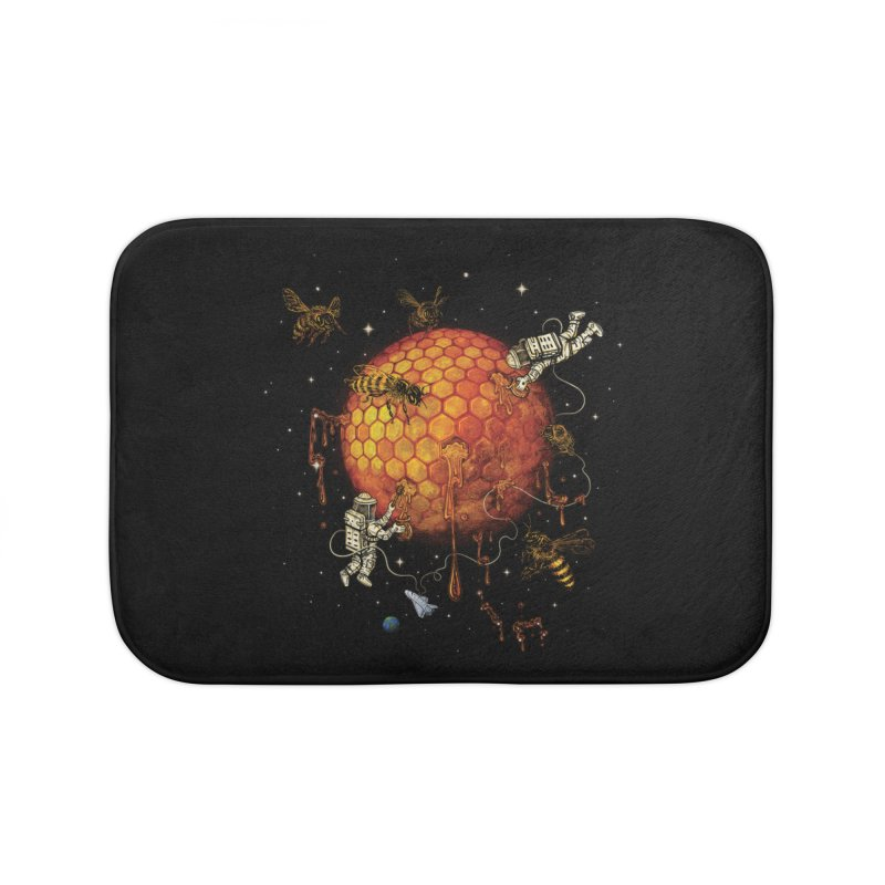 Honey Moon Home Bath Mat by Made With Awesome