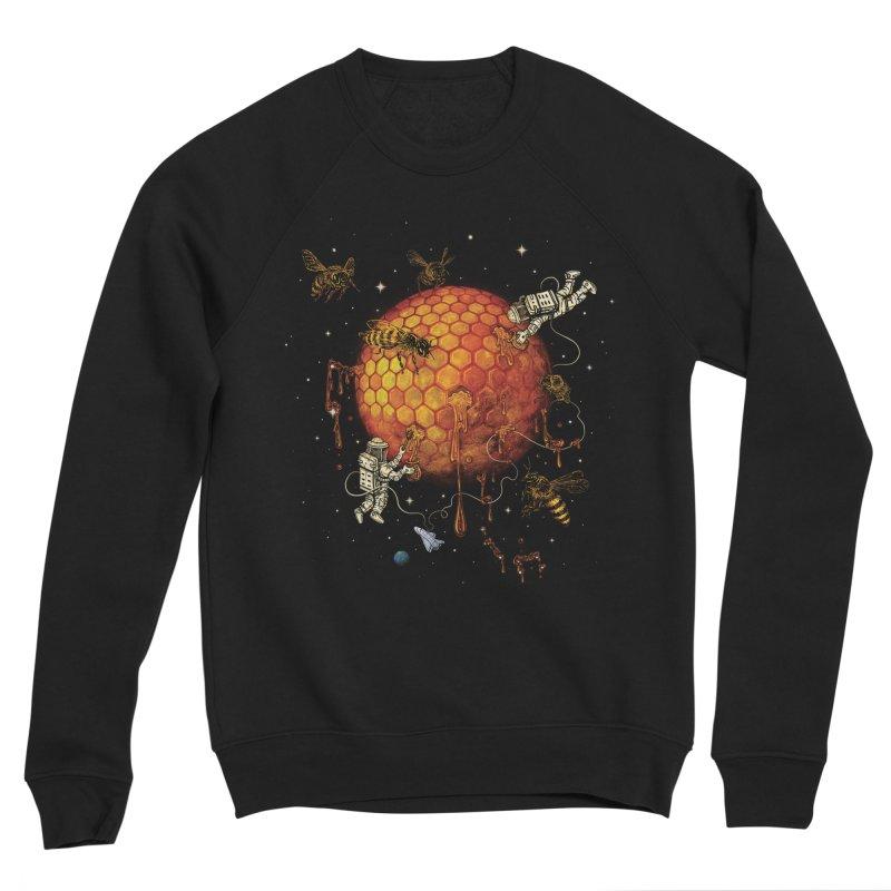 Honey Moon Men's Sponge Fleece Sweatshirt by Made With Awesome