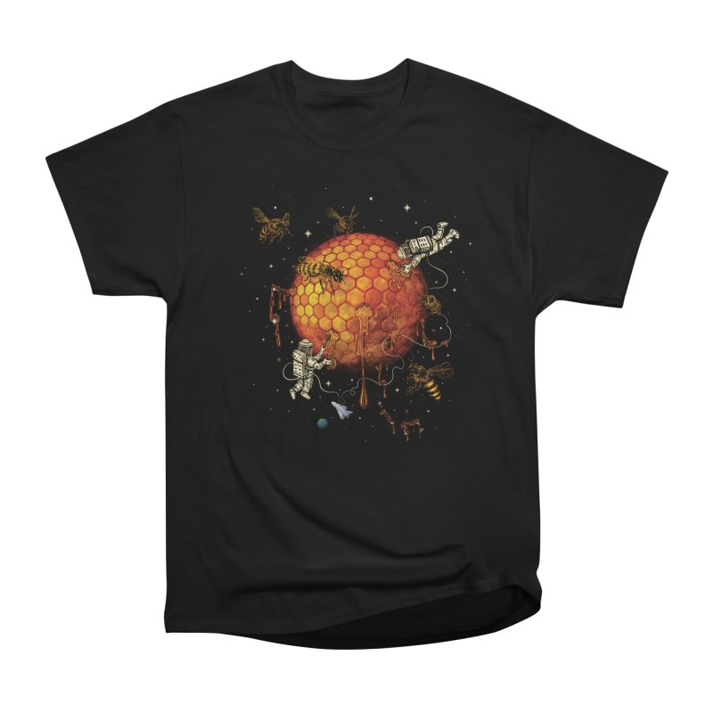 Honey Moon Men's Heavyweight T-Shirt by Made With Awesome