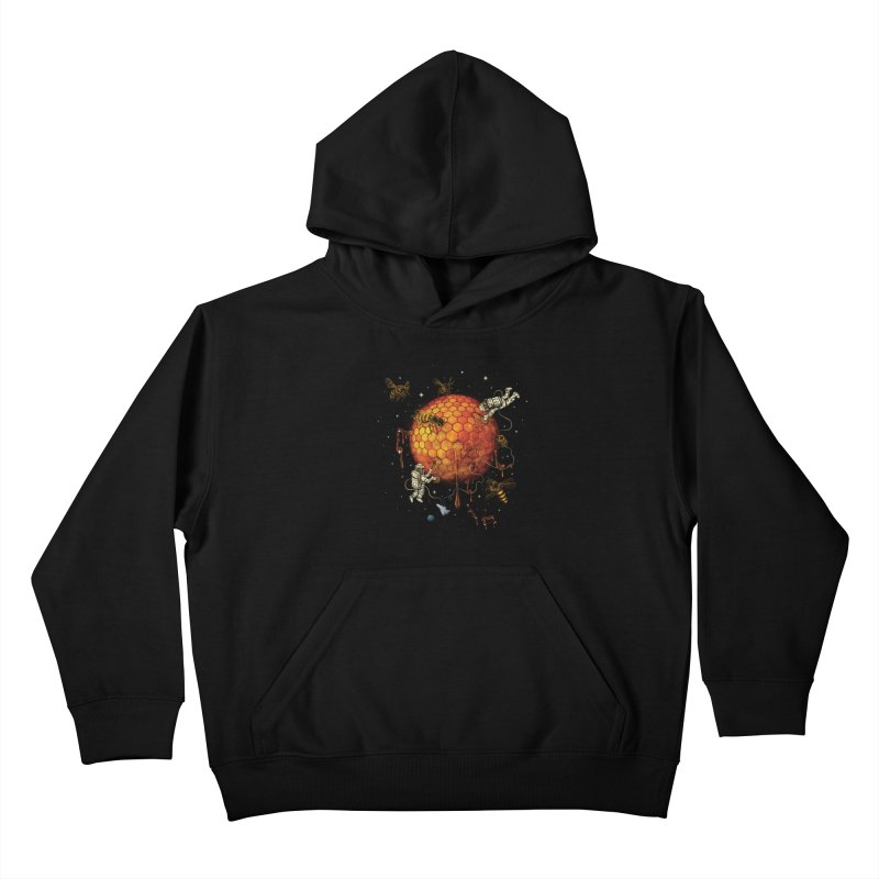Honey Moon Kids Pullover Hoody by Made With Awesome
