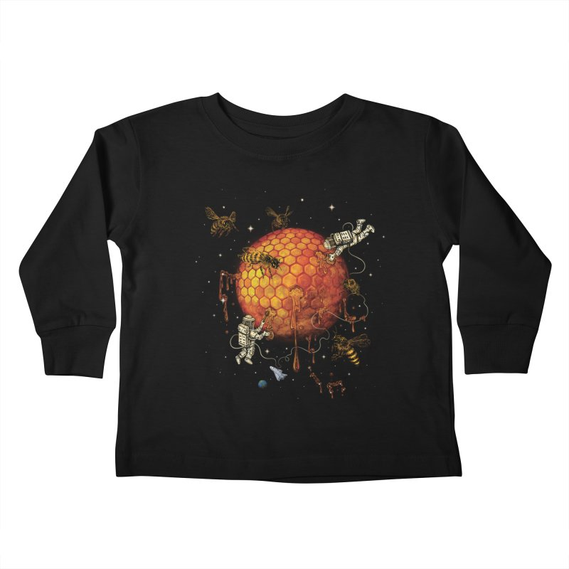 Honey Moon Kids Toddler Longsleeve T-Shirt by Made With Awesome
