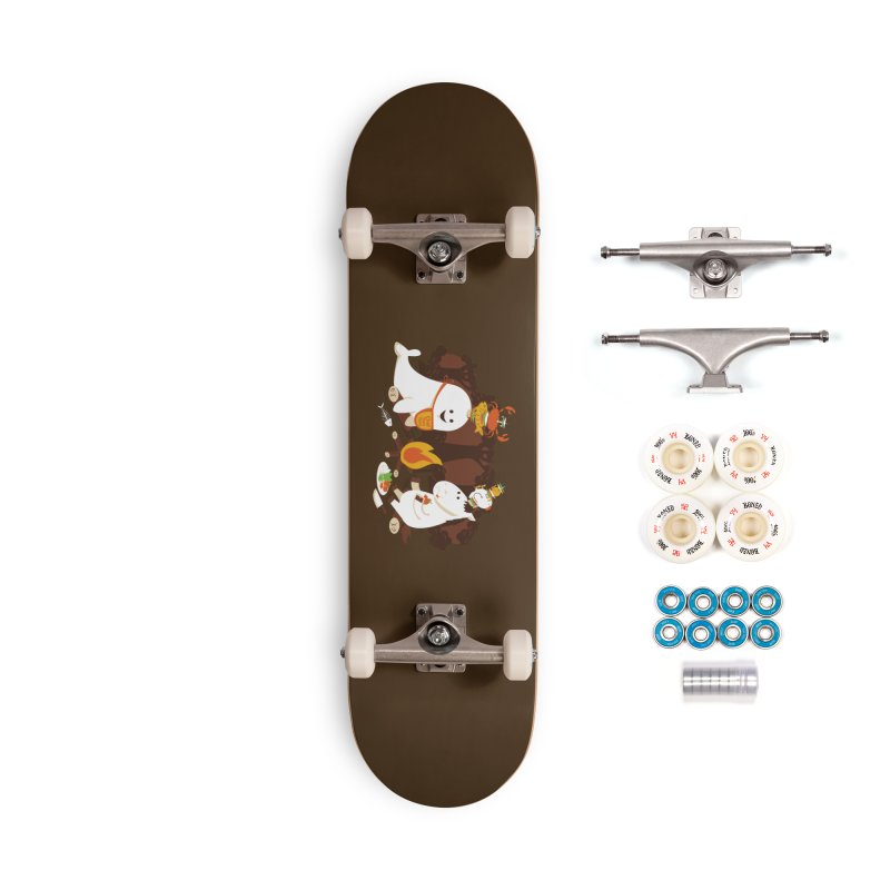 Horn Kabobs Accessories Complete - Premium Skateboard by Made With Awesome
