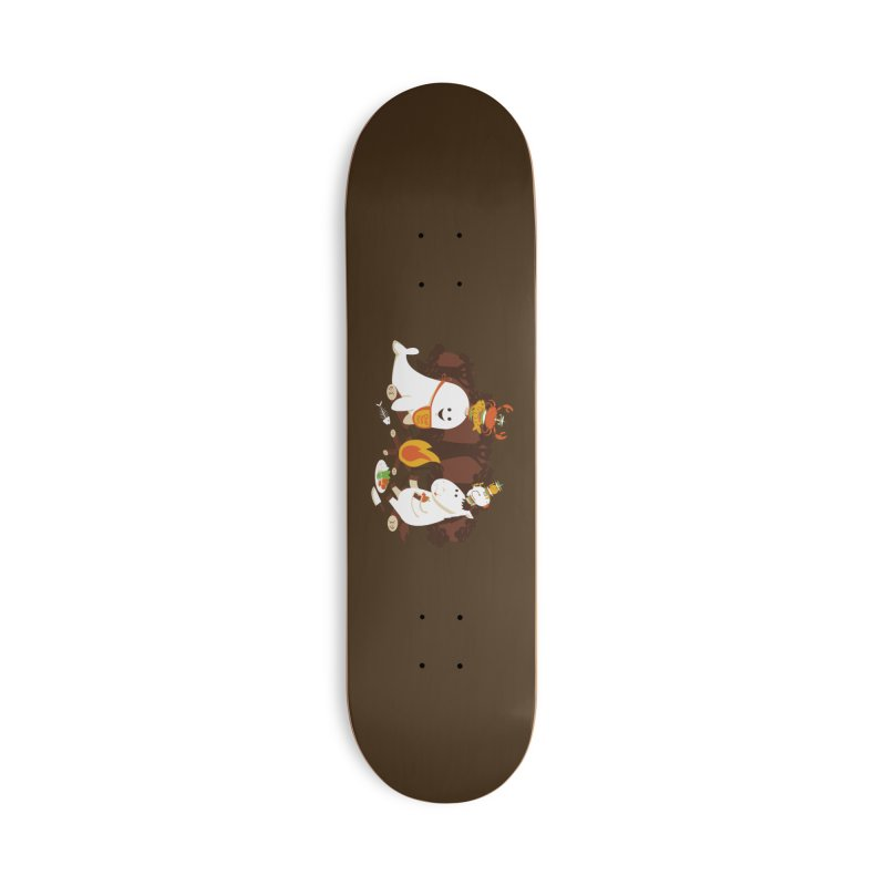 Horn Kabobs Accessories Deck Only Skateboard by Made With Awesome