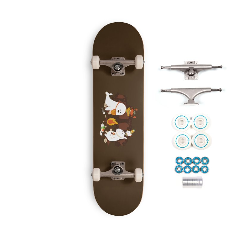 Horn Kabobs Accessories Complete - Basic Skateboard by Made With Awesome