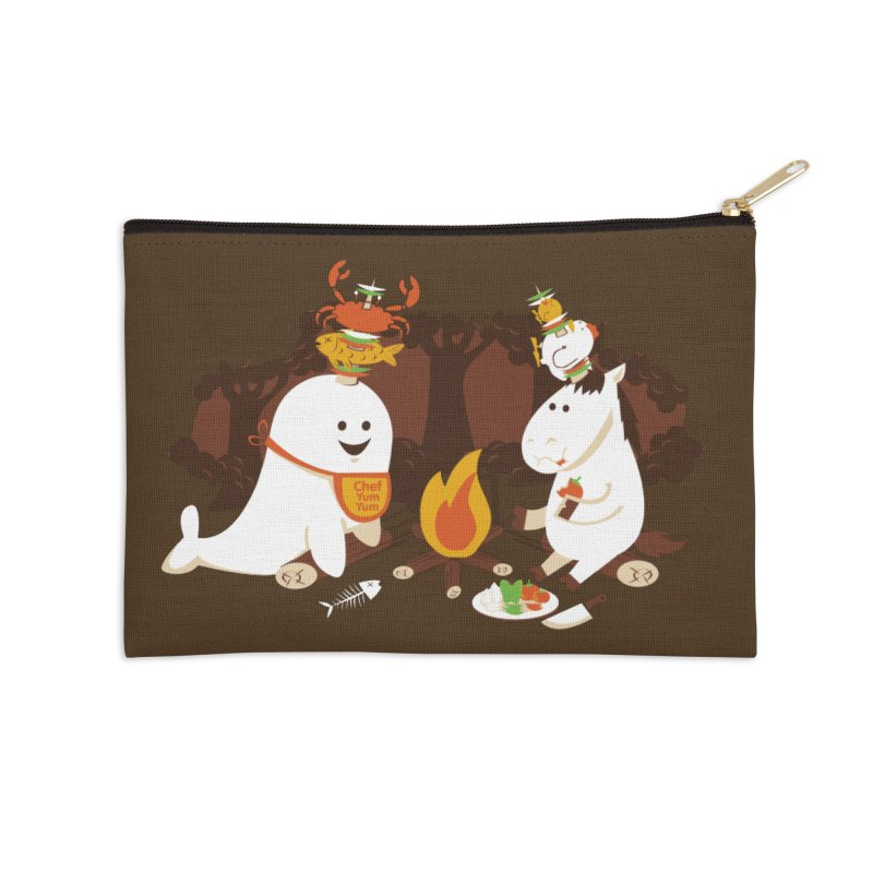 Horn Kabobs Accessories Zip Pouch by Made With Awesome
