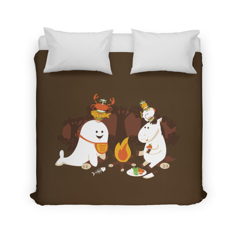 Horn Kabobs Home Duvet by Made With Awesome