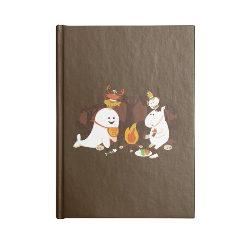 Horn Kabobs Accessories Lined Journal Notebook by Made With Awesome