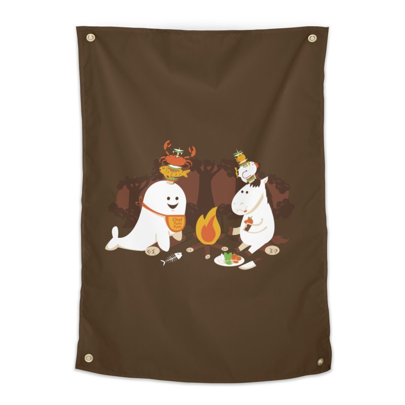 Horn Kabobs Home Tapestry by Made With Awesome