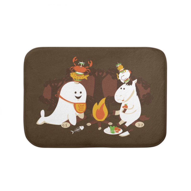 Horn Kabobs Home Bath Mat by Made With Awesome