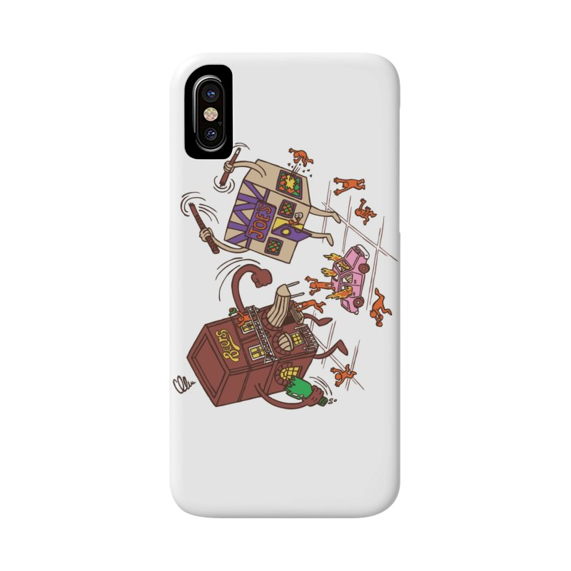 Bar Fight Accessories Phone Case by Made With Awesome