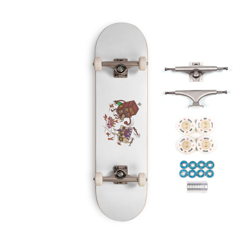 Bar Fight Accessories Complete - Premium Skateboard by Made With Awesome