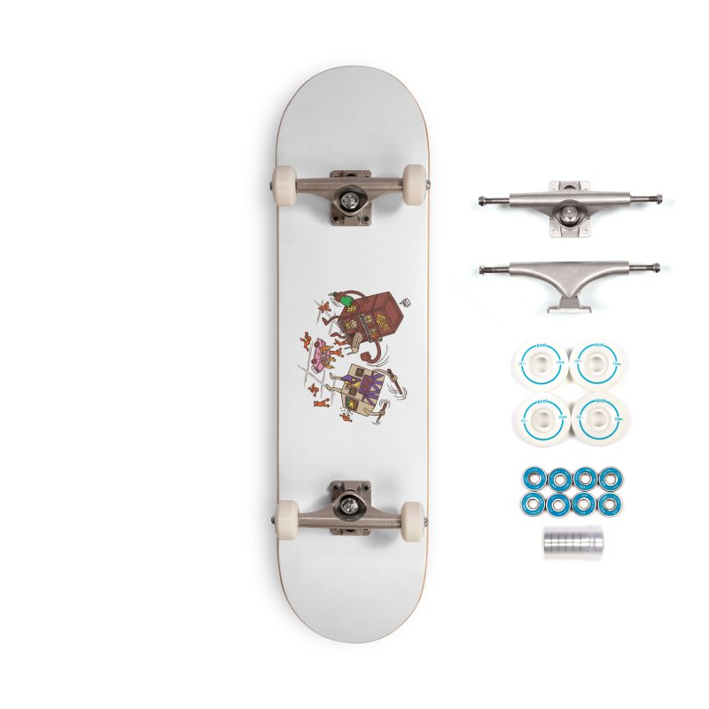 Bar Fight Accessories Complete - Basic Skateboard by Made With Awesome