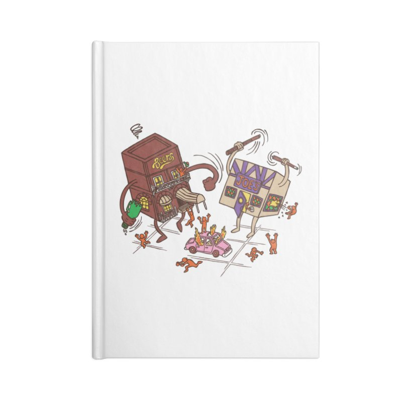 Bar Fight Accessories Blank Journal Notebook by Made With Awesome