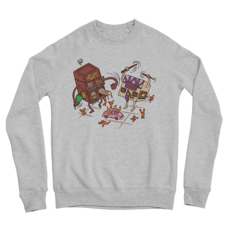 Bar Fight Men's Sponge Fleece Sweatshirt by Made With Awesome