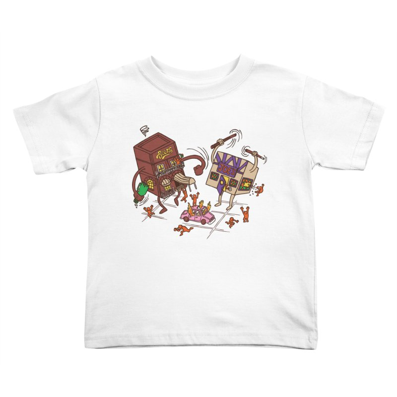 Bar Fight Kids Toddler T-Shirt by Made With Awesome