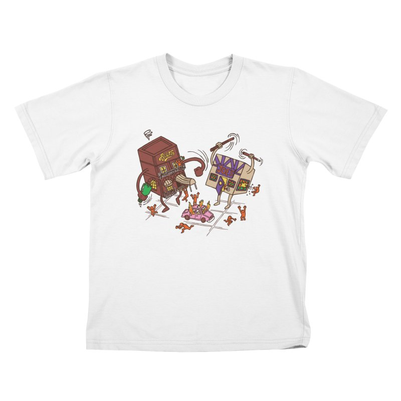 Bar Fight Kids T-Shirt by Made With Awesome