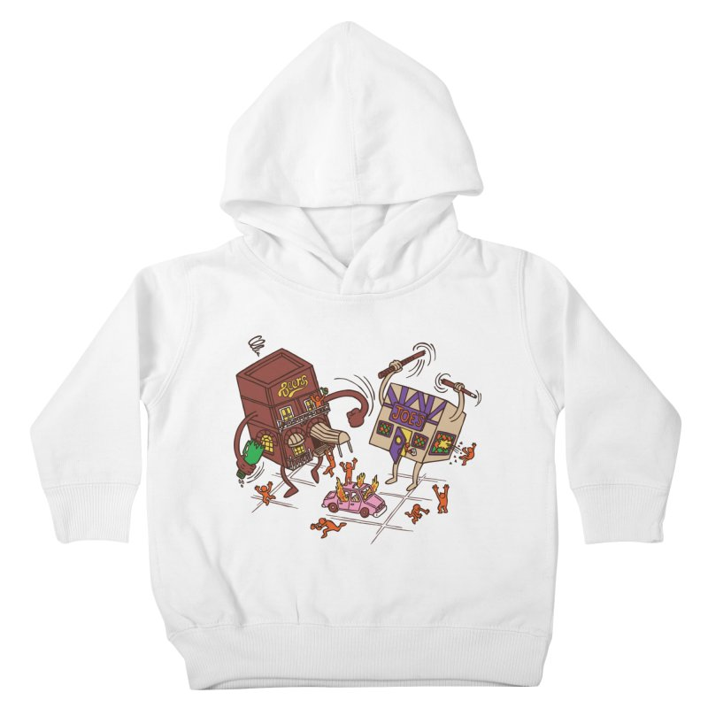Bar Fight Kids Toddler Pullover Hoody by Made With Awesome