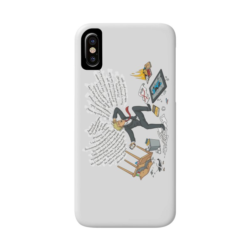 Little Handsy in a Strong Fit Accessories Phone Case by Made With Awesome