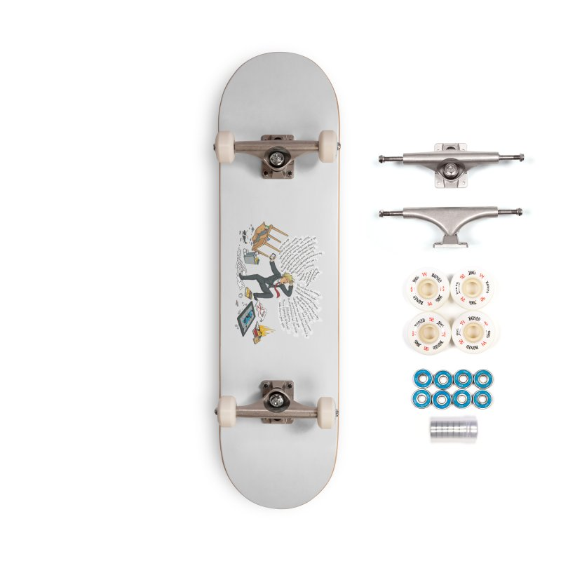 Little Handsy in a Strong Fit Accessories Complete - Premium Skateboard by Made With Awesome