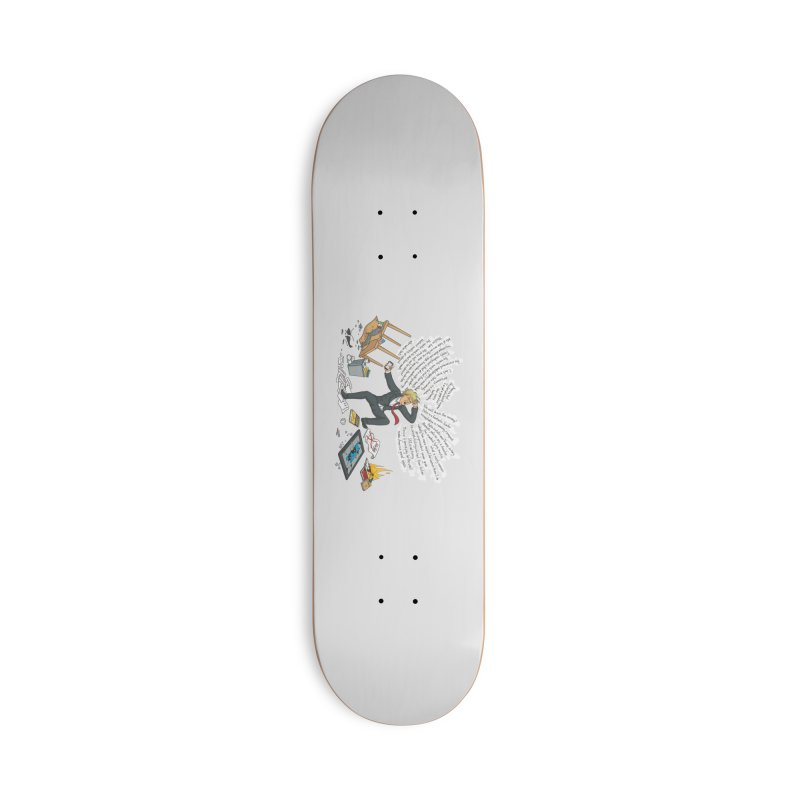 Little Handsy in a Strong Fit Accessories Deck Only Skateboard by Made With Awesome