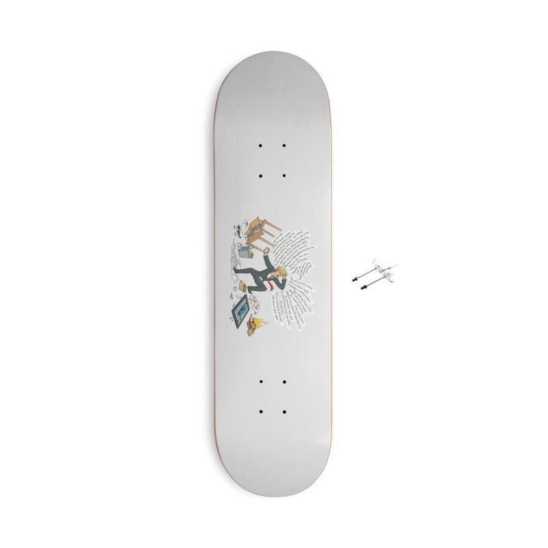 Little Handsy in a Strong Fit Accessories With Hanging Hardware Skateboard by Made With Awesome