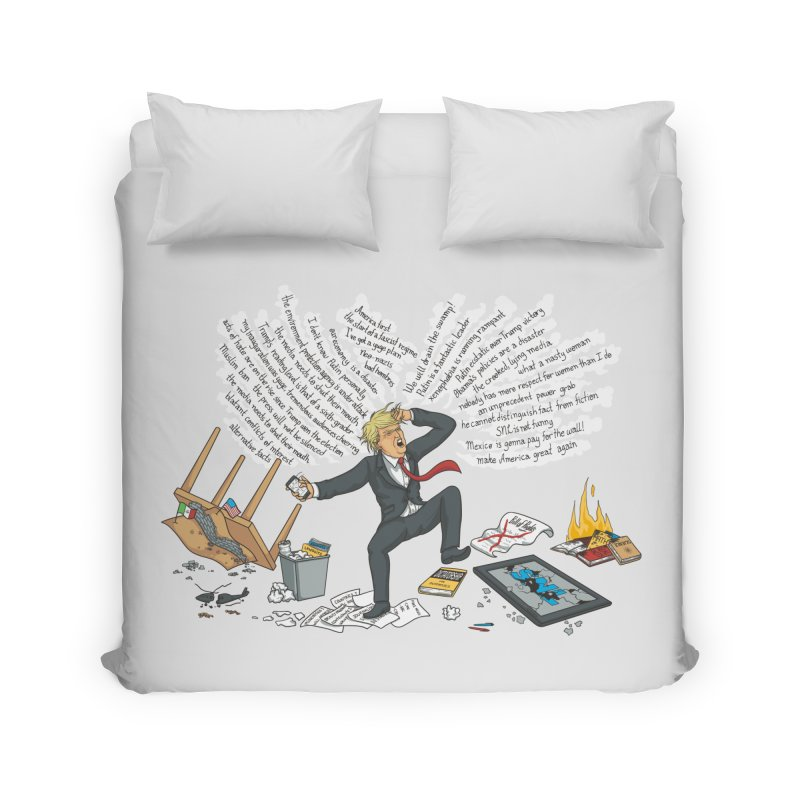 Little Handsy in a Strong Fit Home Duvet by Made With Awesome