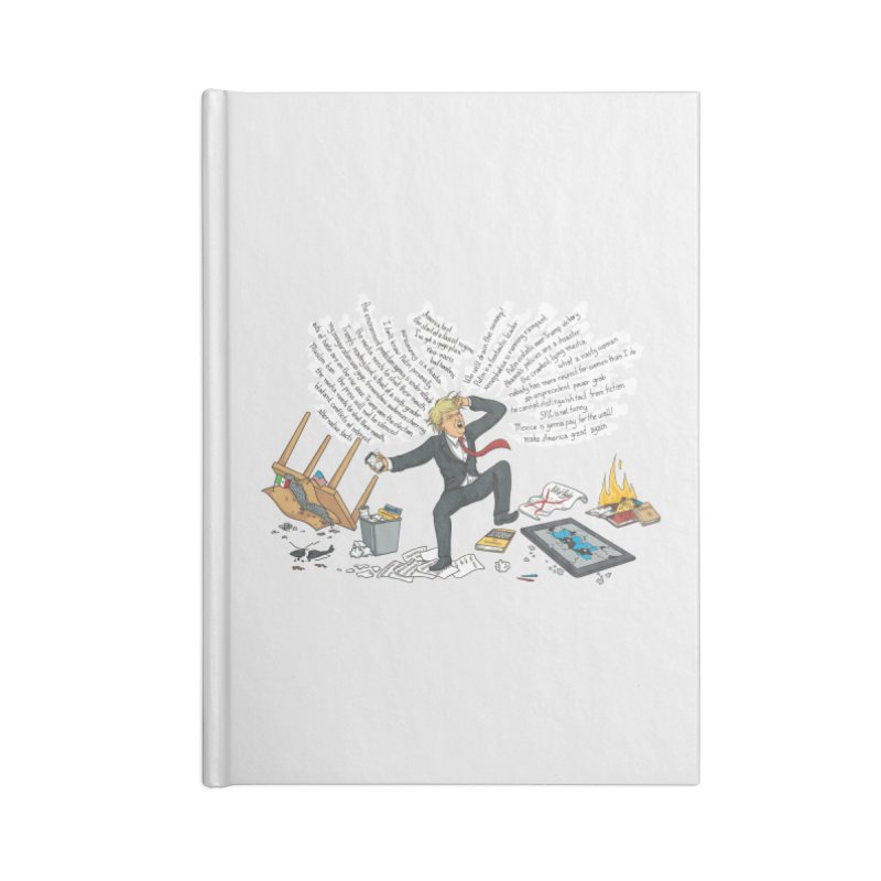 Little Handsy in a Strong Fit Accessories Lined Journal Notebook by Made With Awesome