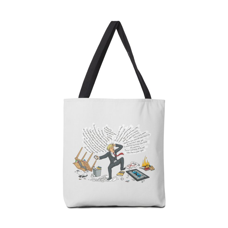 Little Handsy in a Strong Fit Accessories Tote Bag Bag by Made With Awesome