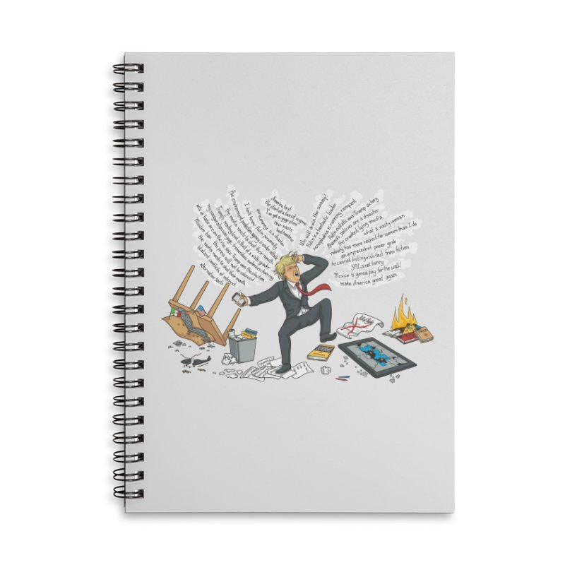 Little Handsy in a Strong Fit Accessories Lined Spiral Notebook by Made With Awesome