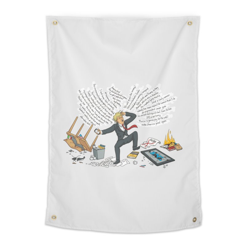 Little Handsy in a Strong Fit Home Tapestry by Made With Awesome