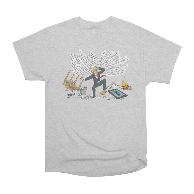 Little Handsy in a Strong Fit Men's Heavyweight T-Shirt by Made With Awesome