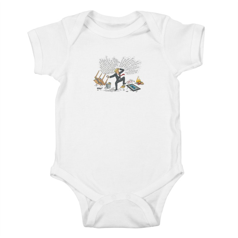 Little Handsy in a Strong Fit Kids Baby Bodysuit by Made With Awesome