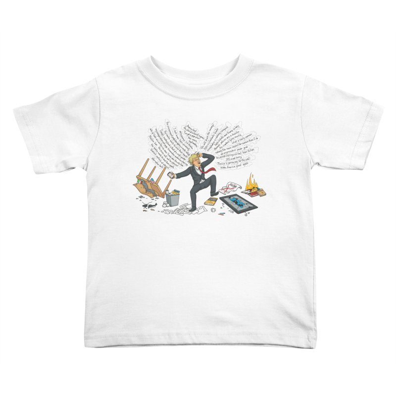 Little Handsy in a Strong Fit Kids Toddler T-Shirt by Made With Awesome