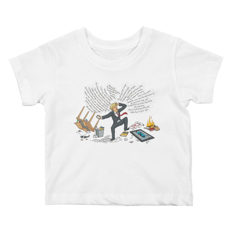 Little Handsy in a Strong Fit Kids Baby T-Shirt by Made With Awesome