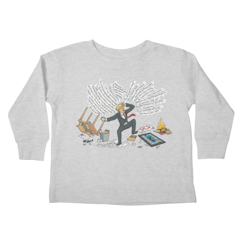 Little Handsy in a Strong Fit Kids Toddler Longsleeve T-Shirt by Made With Awesome