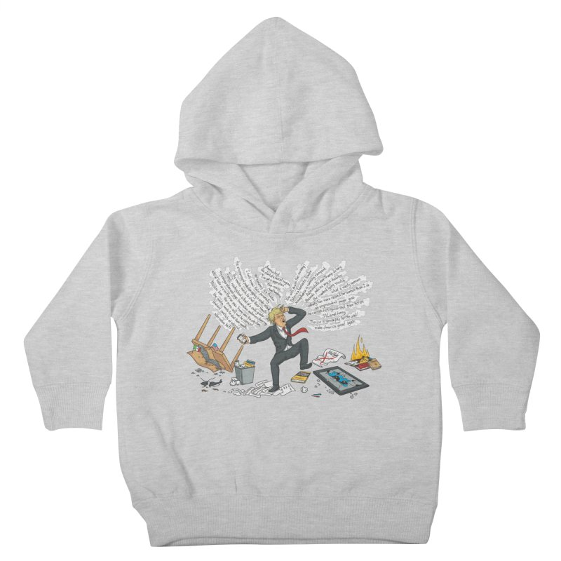 Little Handsy in a Strong Fit Kids Toddler Pullover Hoody by Made With Awesome