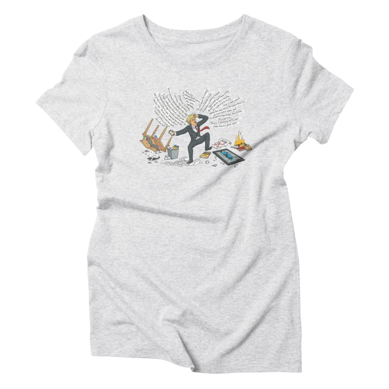 Little Handsy in a Strong Fit Women's Triblend T-Shirt by Made With Awesome