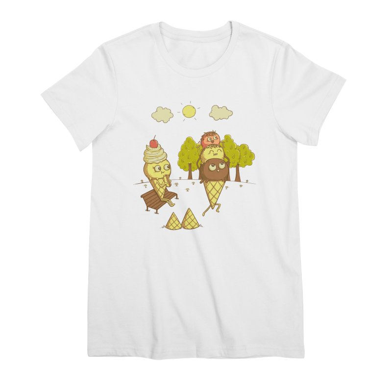 Yummyback Ride Women's Premium T-Shirt by Made With Awesome