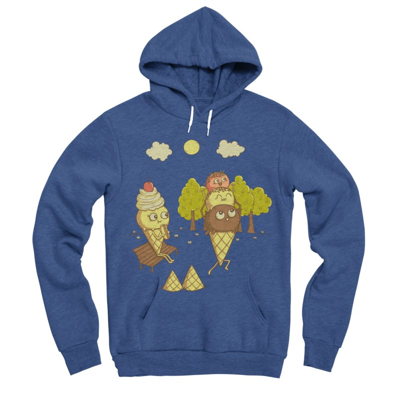Yummyback Ride Men's Sponge Fleece Pullover Hoody by Made With Awesome